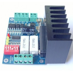 TB6560 stepping motor driver with heatsink
