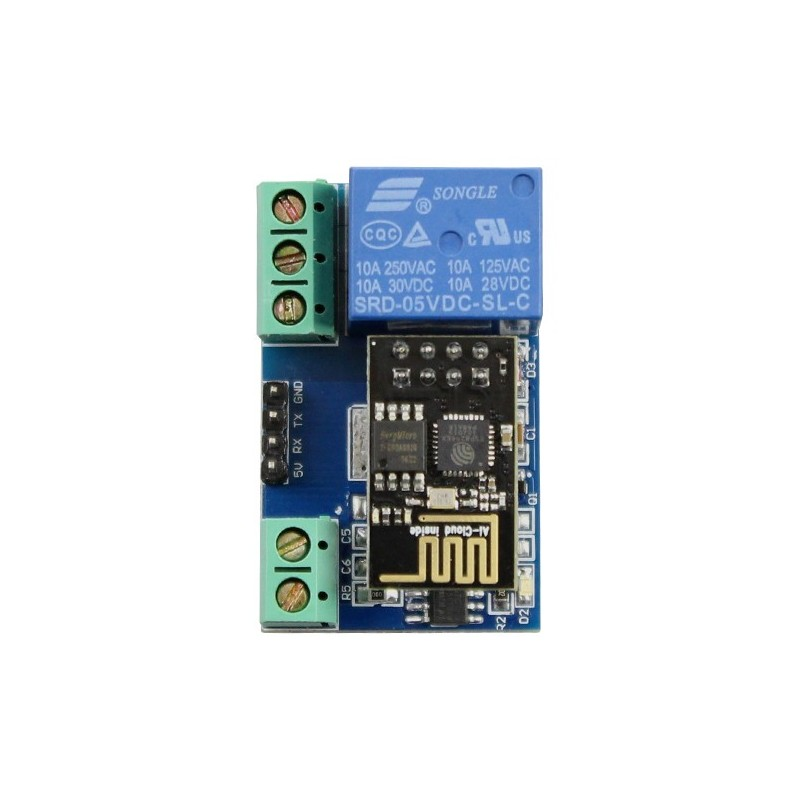 ESP8266 5V WiFi relay Internet of Things smart home Cellp hone APP  teleswitch