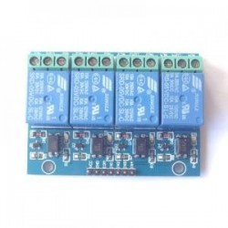 4 road 5 v 10A optical coupling isolation relay module