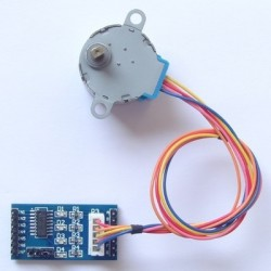 ULN2003 stepper motor driver board + 5 v stepper motor