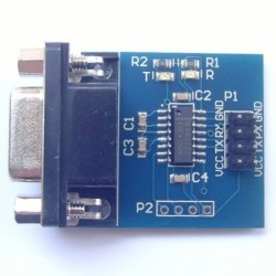 MAX3232 serial RS232 turn TTL module with transceiver module