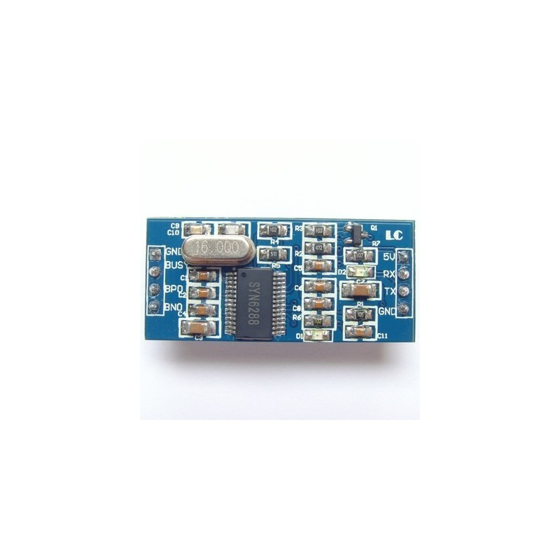 SYN6288 TTS voice module speech synthesis module text to sound module