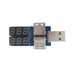 USB voltage detection and current detection module