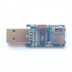GL827 USB connector MINI SD card reader module