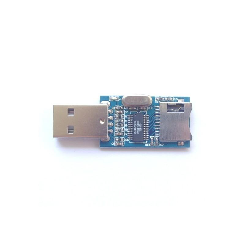 Mini Sd Kartenleser.Gl827 Usb Connector Mini Sd Card Reader Module