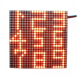 MAX7219 9 in 1 dot matrix module 24 x24 dot matrix display driver module