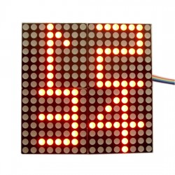 MAX7219 4 in 1 dot matrix module 16 x16 dot matrix display driver module