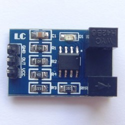 Photoelectric counter module, motor speed measuring module