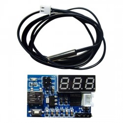 NTC temperature measurement development board with NTC temperature sensor