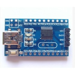STM8S003F3P6 STM8 core board development board