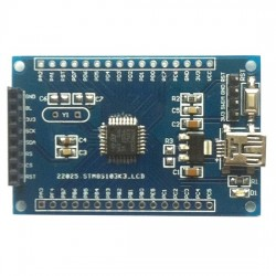 STM8S103K3T6 minimum system board core board with SPI LCD interface