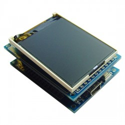 STM8S903K3T6 development board+1.8 inch LCD I2C serial port screen