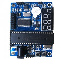 51 single-chip microcomputer STC SCM development board core plate minimum system