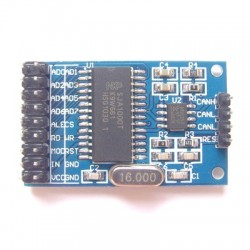 SJA1000 + PCA82C250 CAN communication module
