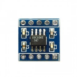 X9c104 digital potentiometer module