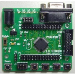 MSP430F149 Learning Board Development Board With Serial Interface