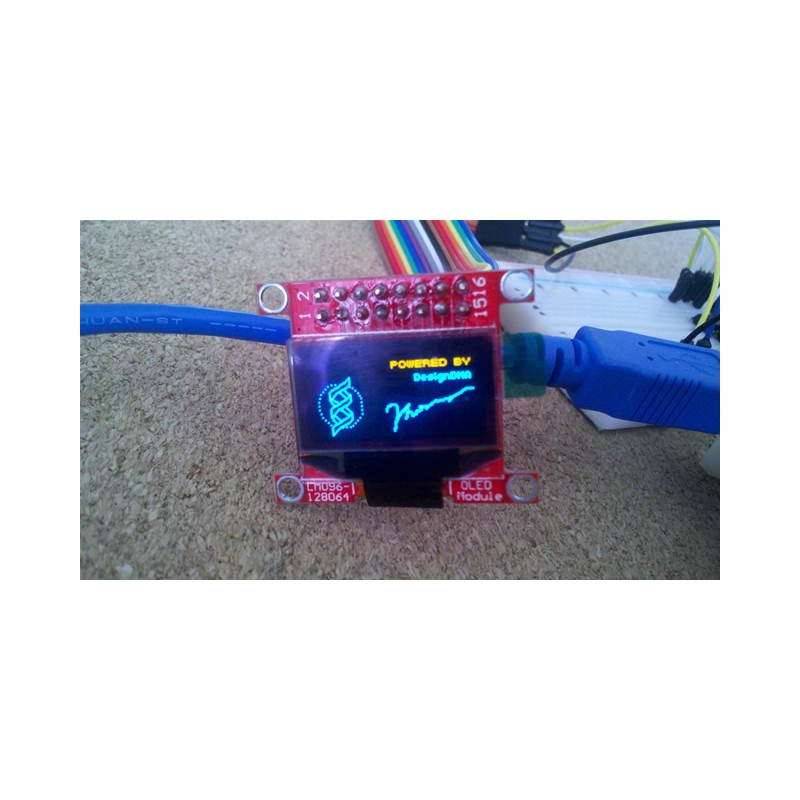 Mini-OLED Module (Dual Color)