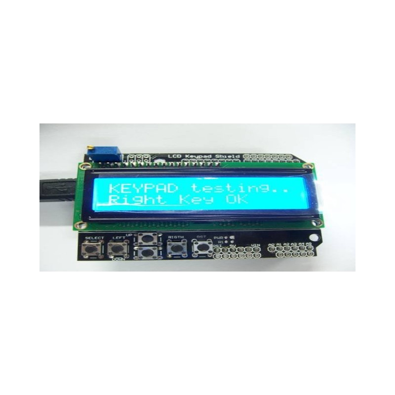 1602 LCD+Keypad Shield
