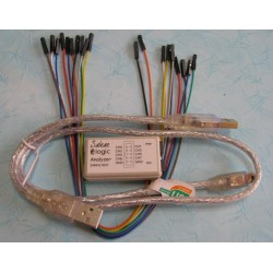 USB Saleae 24MHz 8Channel Logic Analyzer
