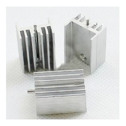 Heatsink for TO-220 with pin