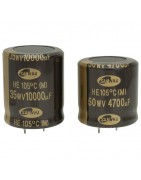 Catégorie 105°C Snap in Capacitor - BiF : 330 UF 200 V Snap in , 560 UF 200 V Snap in , 680 UF 200 V Snap in , 100 UF 400 V S...