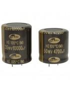 Catégorie 105°C Snap in Capacitor - BiF : 330 UF 200 V Snap in , 560 UF 200 V Snap in , 680 UF 200 V Snap in , 100 UF 400 V S...